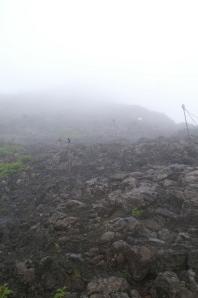 fog set in...